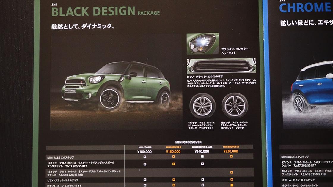 新型ミニクロスオーバー、ペースマンの新デザインパッケージ「ブラックデザイン」