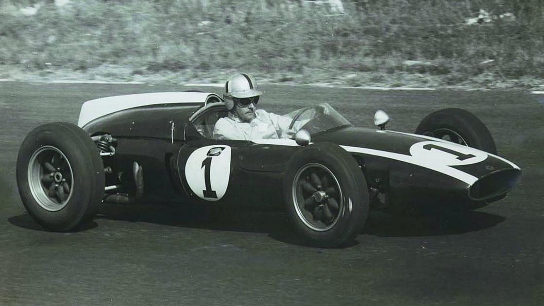 ジョン・クーパー氏の製作したレーシングカー。