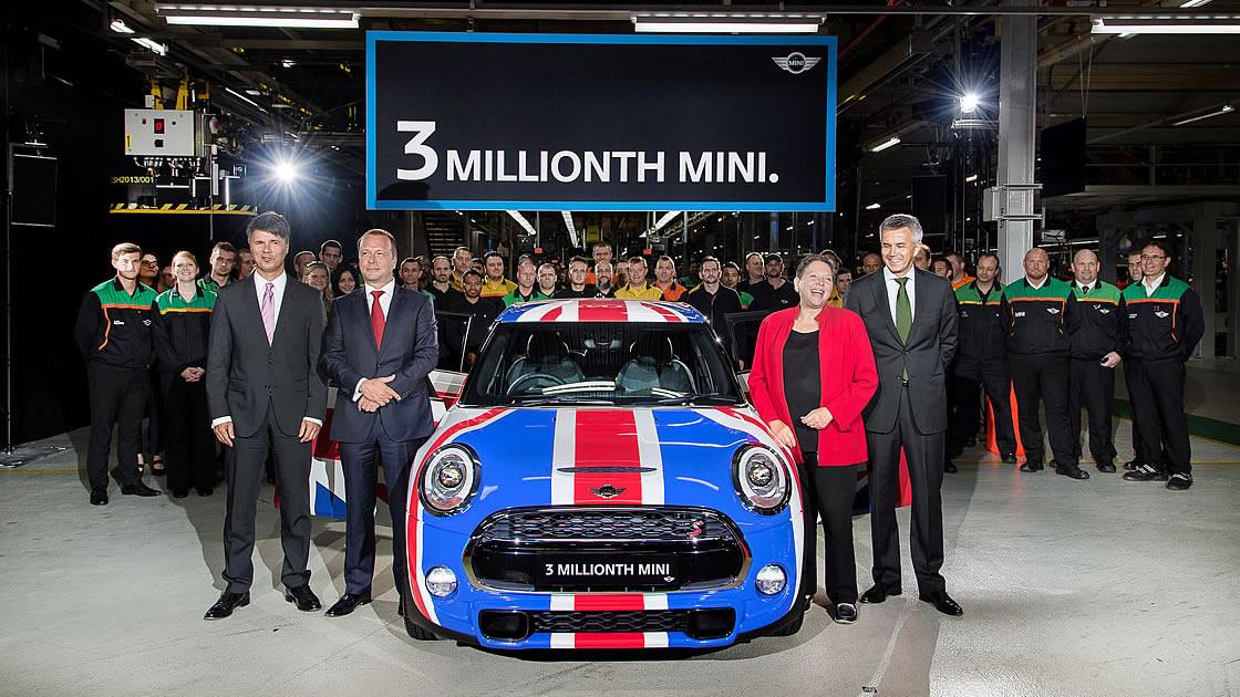 ミニの生産台数が300万台を突破!