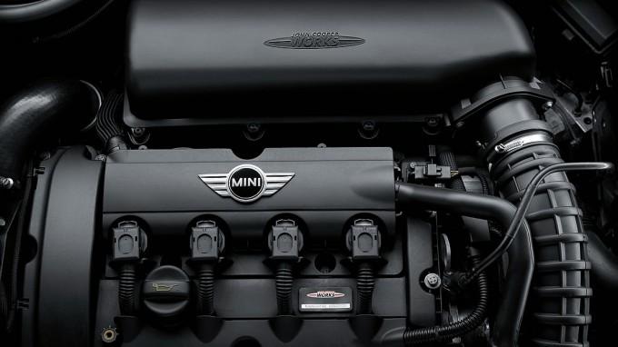 ミニのディーゼルエンジン。外観。