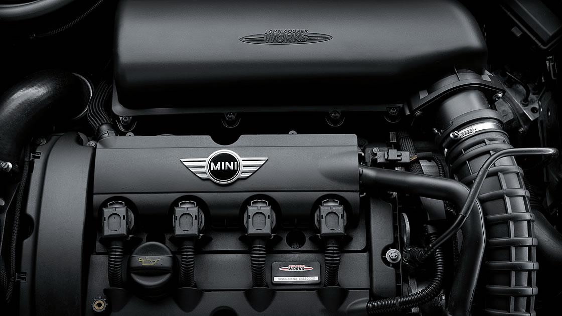 ミニのエンジン