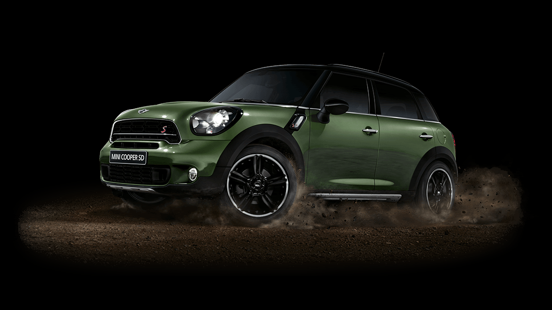 DRIVE GUIDE THE NEW MINI CROSSOVER. CLEAN DIESEL