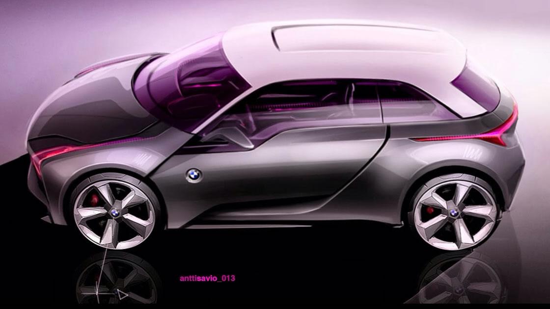 BMW i1予想CG