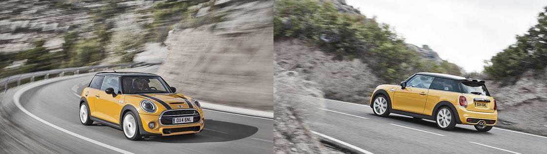 新型ミニF56の走行シーン