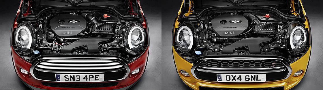 新型ミニクーパー、クーパーSのエンジン