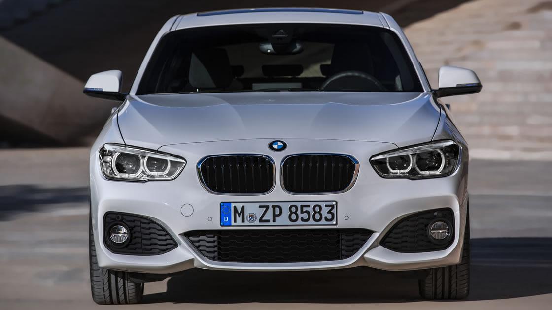 BMW1シリーズ(F20)フェイスリフト