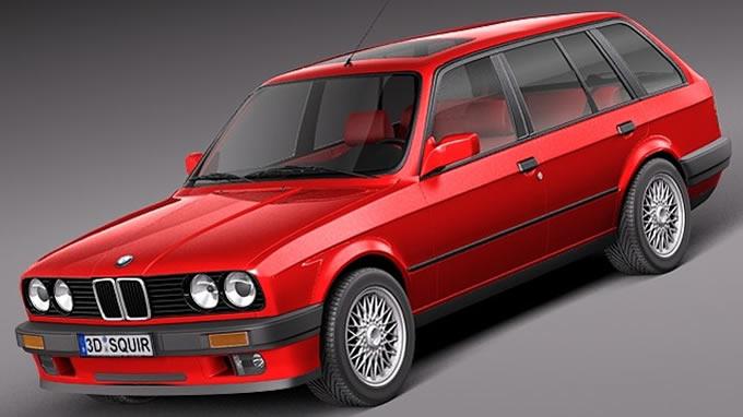 BMW E30 ツーリング