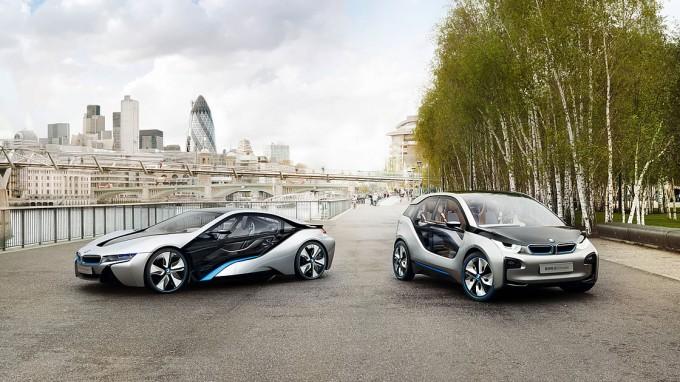 BMW i3、i8
