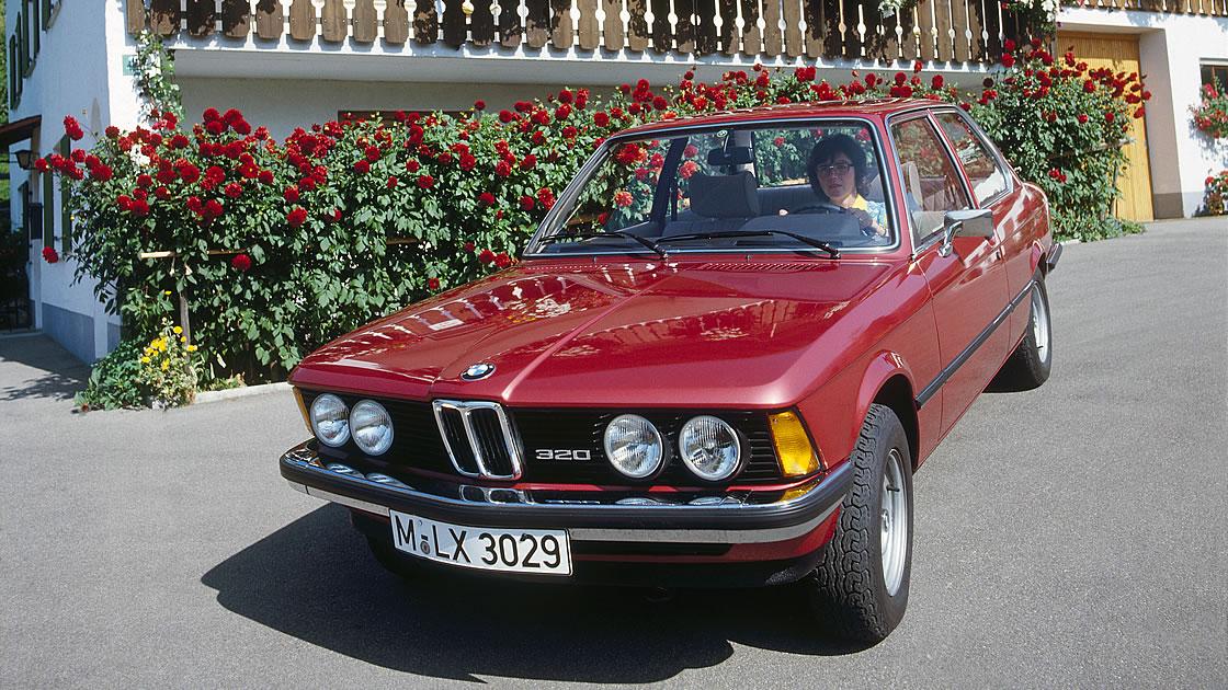 初代BMW 3シリーズ