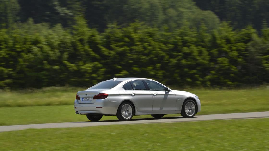 BMW5シリーズ 試乗