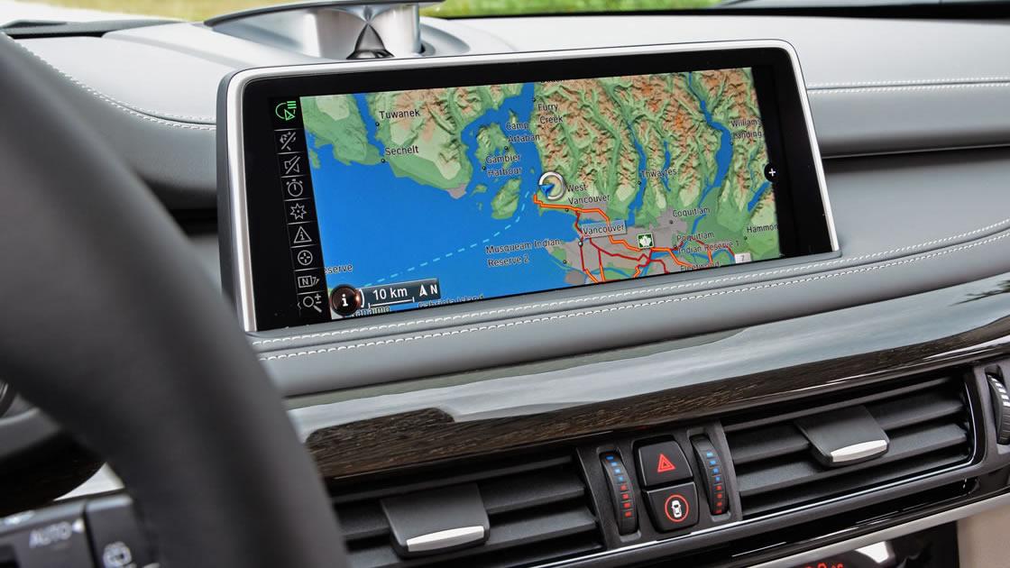 BMWナビゲーション「iDrive」- 地図機能