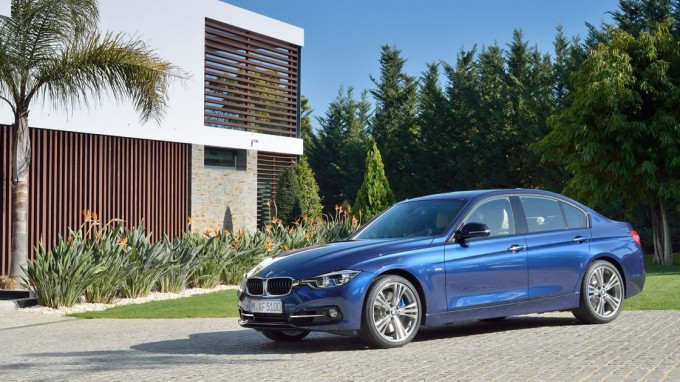 後期型 BMW 3シリーズ(F30)