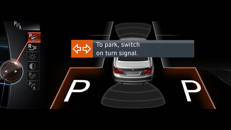 BMWナビゲーション「iDrive」- パーキングアシスト