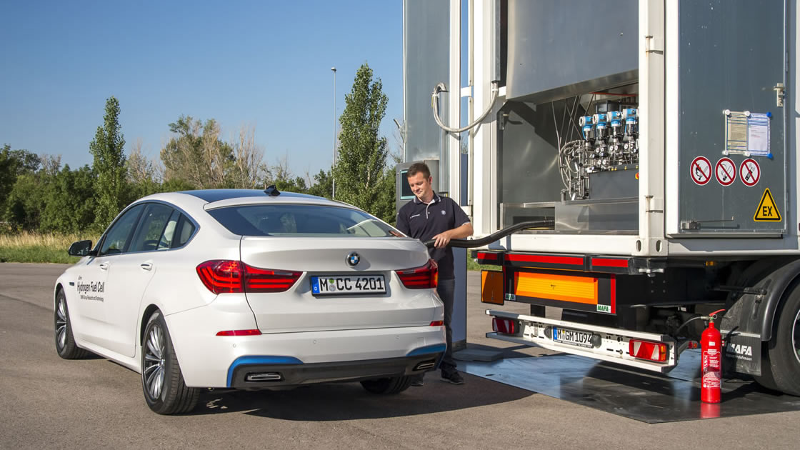 BMW Hydrogen fuel cell drive system