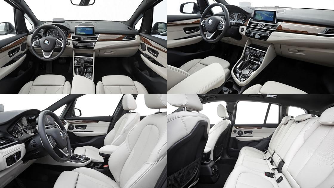 BMW2シリーズ・グランツアラー ボディサイズ