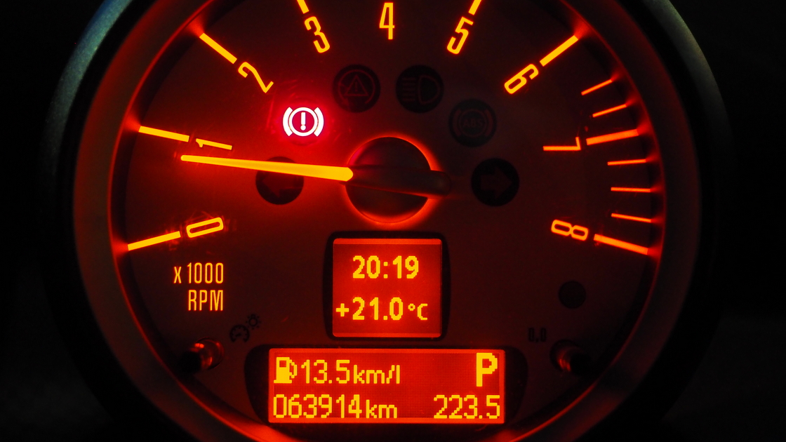 2010年式ミニクーパーSの燃費。