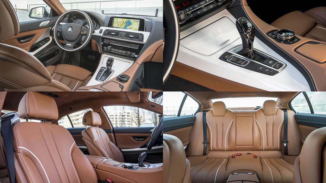 BMW 6シリーズ・グランクーペ (F04) インテリア