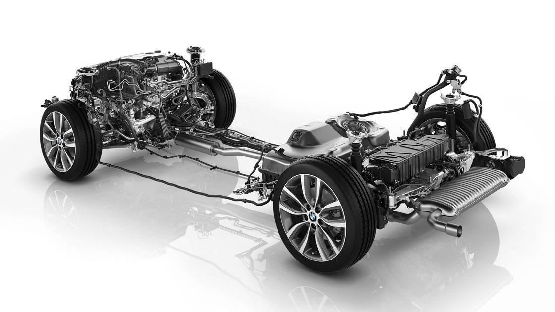 BMWのエンジンレイアウト