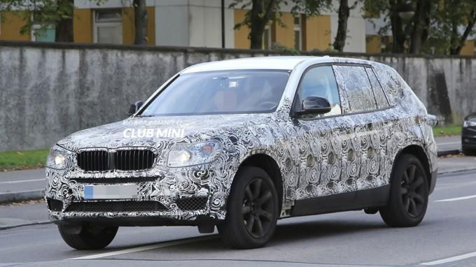 新型BMW X3(G01)
