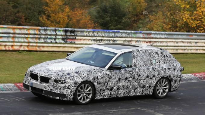 次期型BMW5シリーズ ツーリング(G31)