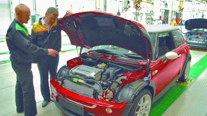 第1世代ミニ(R50、R53)の定番トラブルと修理