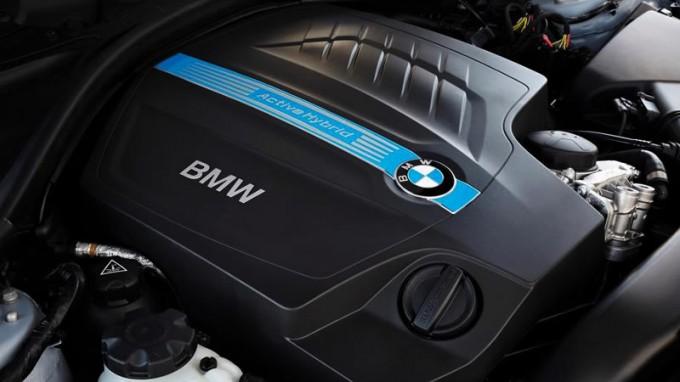 bmw activehybrid 3 engine