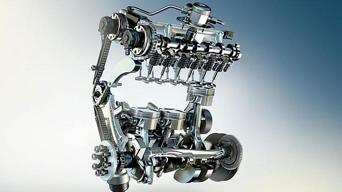 BMW直列3気筒エンジン