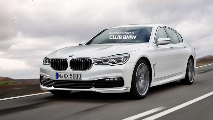 次期BMW5シリーズ