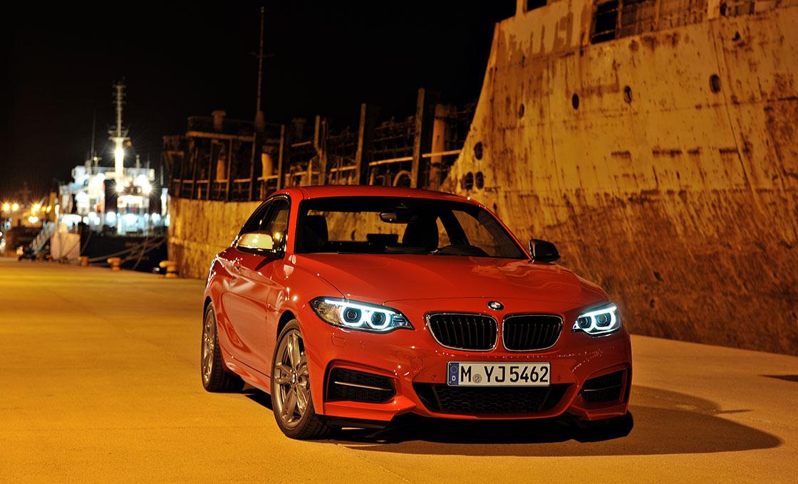 BMW 2シリーズクーペ エクステリアデザイン