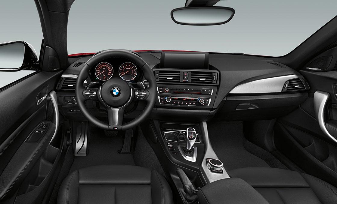 BMW 2シリーズクーペ インテリアデザイン