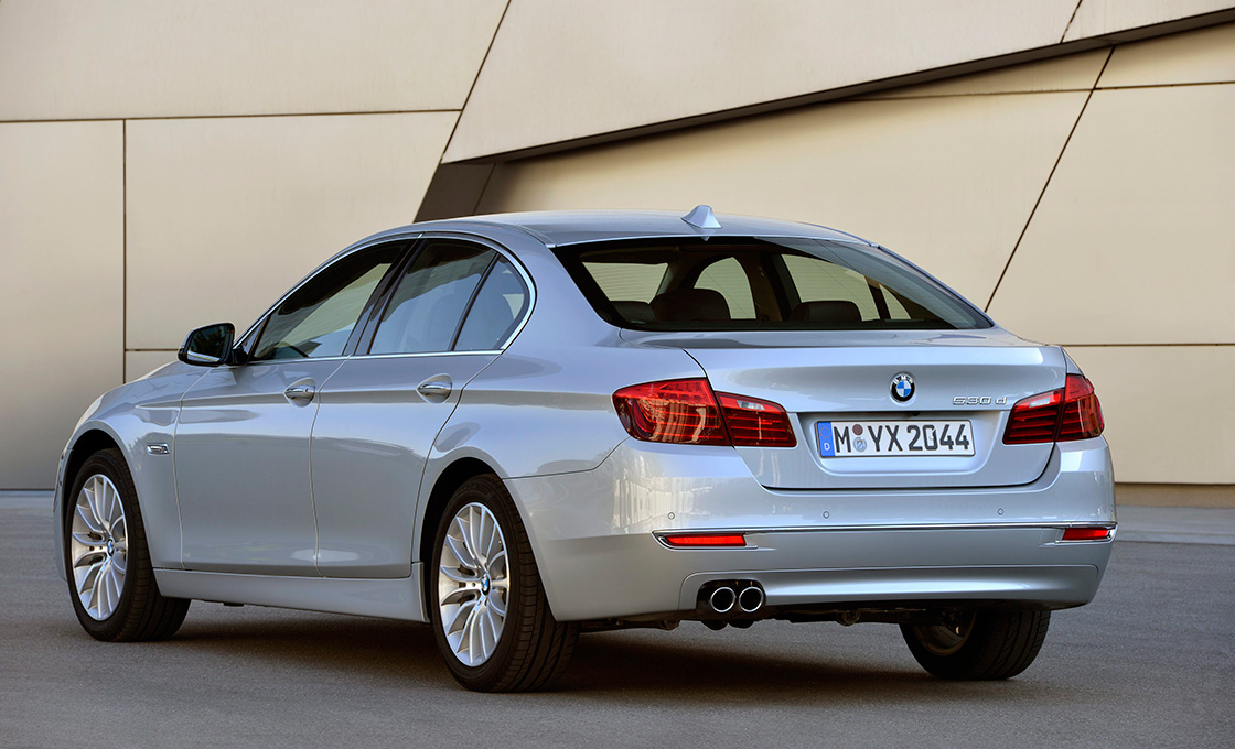 BMW5シリーズリア