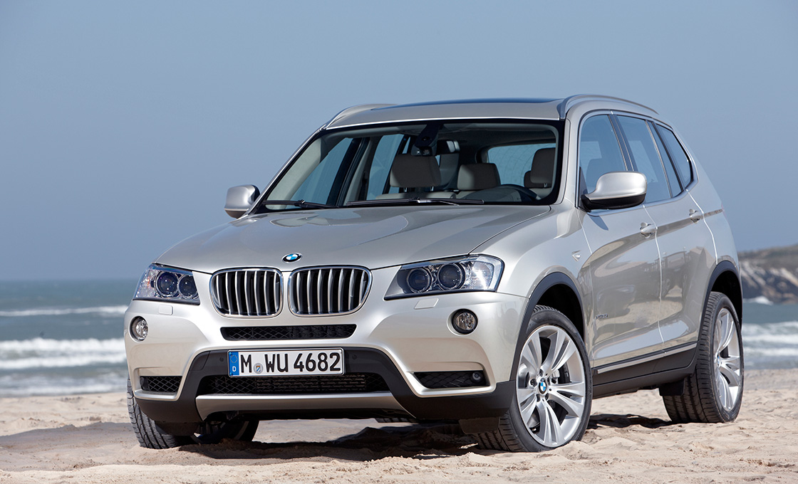 BMW-X3 人気のボディカラー