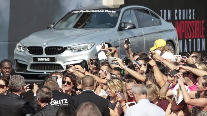 BMWが活躍する映画『ミッション:インポッシブル/ローグ・ネイション』