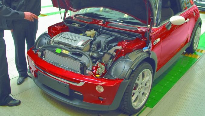 第1世代ミニクーパーのエンジン