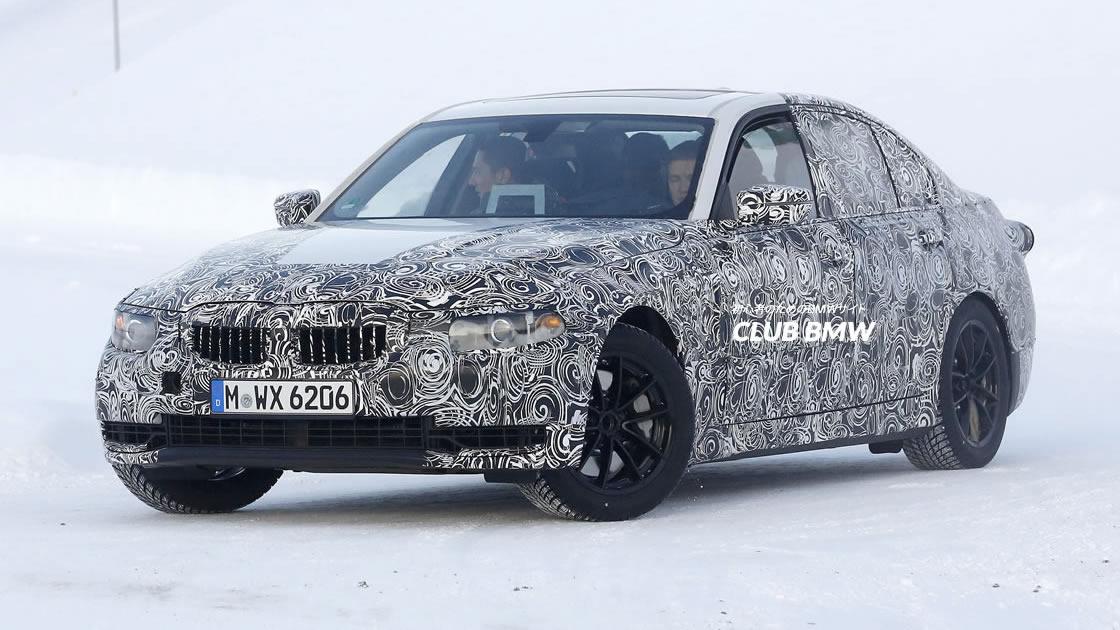 次期BMW 3シリーズ(G20)は2018年登場?