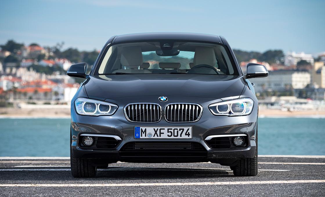 BMW1正面