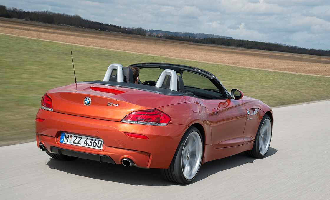 BMW-Z4(E89)オープン時の様子