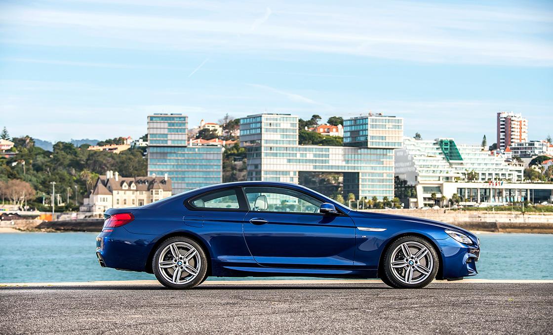 BMW-6シリーズとライバル車のサイズ比較