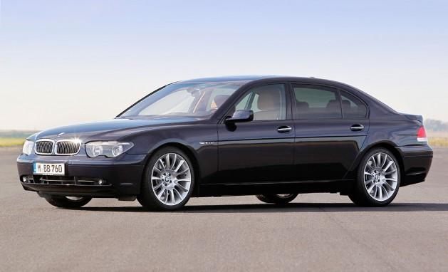 賛否両論あった4代目BMW7シリーズ(E65)のデザイン