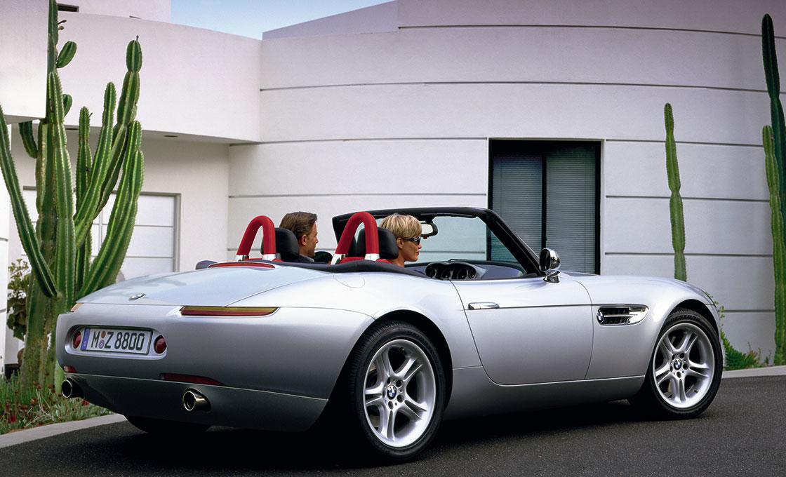 BMW-Z8(E52)の特徴