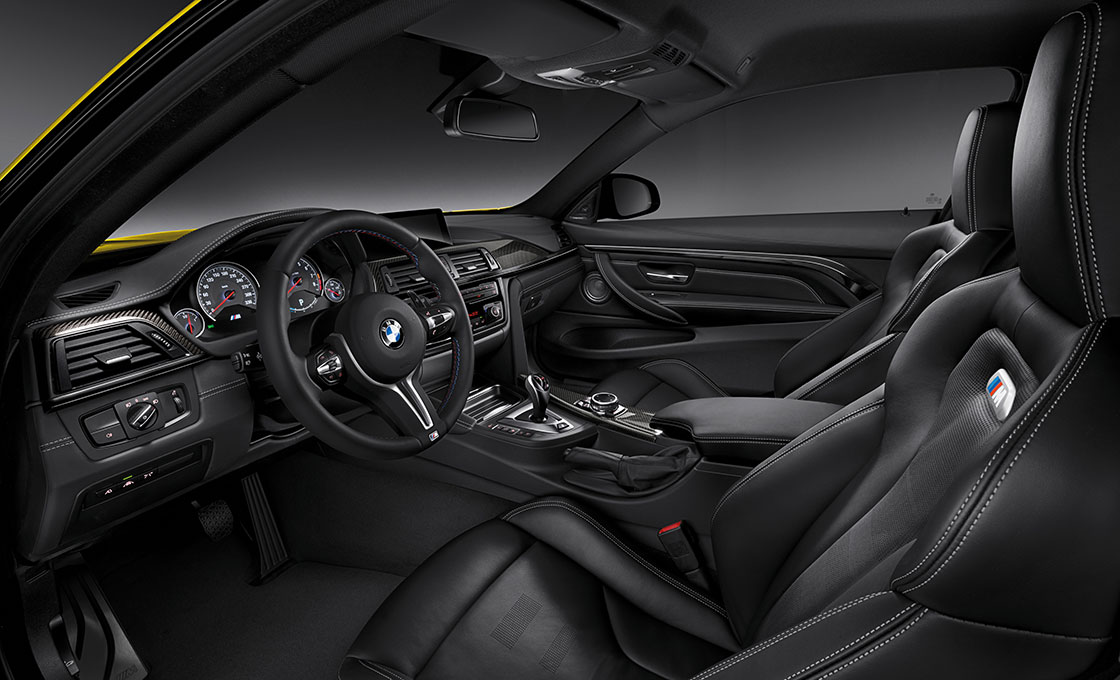 BMW-M4(F82)の-デザイン(インテリア)