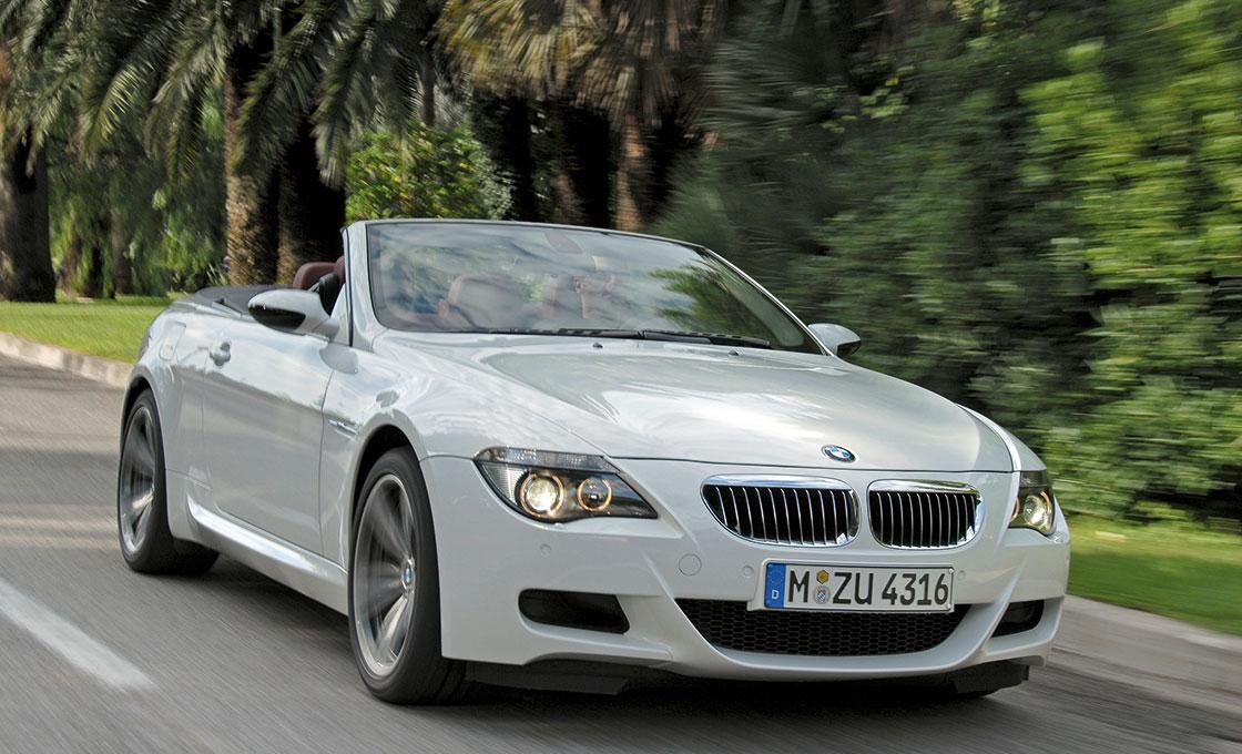 BMW-M6の中古車には特別オーダーのインディビジュアル車両もあり