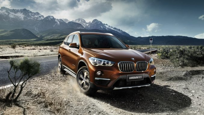 BMW 中国市場向けのロングホイールベースX1を発表