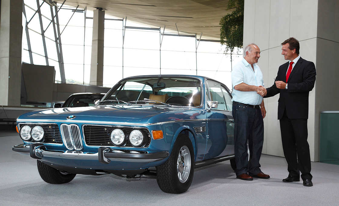 BMW 3.0CSLには排気量が異なる3つのモデルが存在