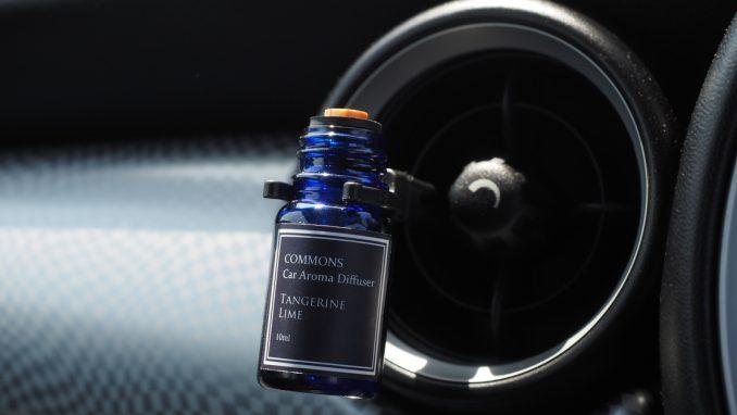COMMONS 車用アロマディフューザー Car Aroma Diffuser ライム&タンジェリン CALT