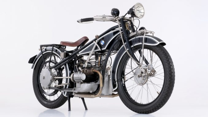 BMW R32 1923年から販売されていたバイク