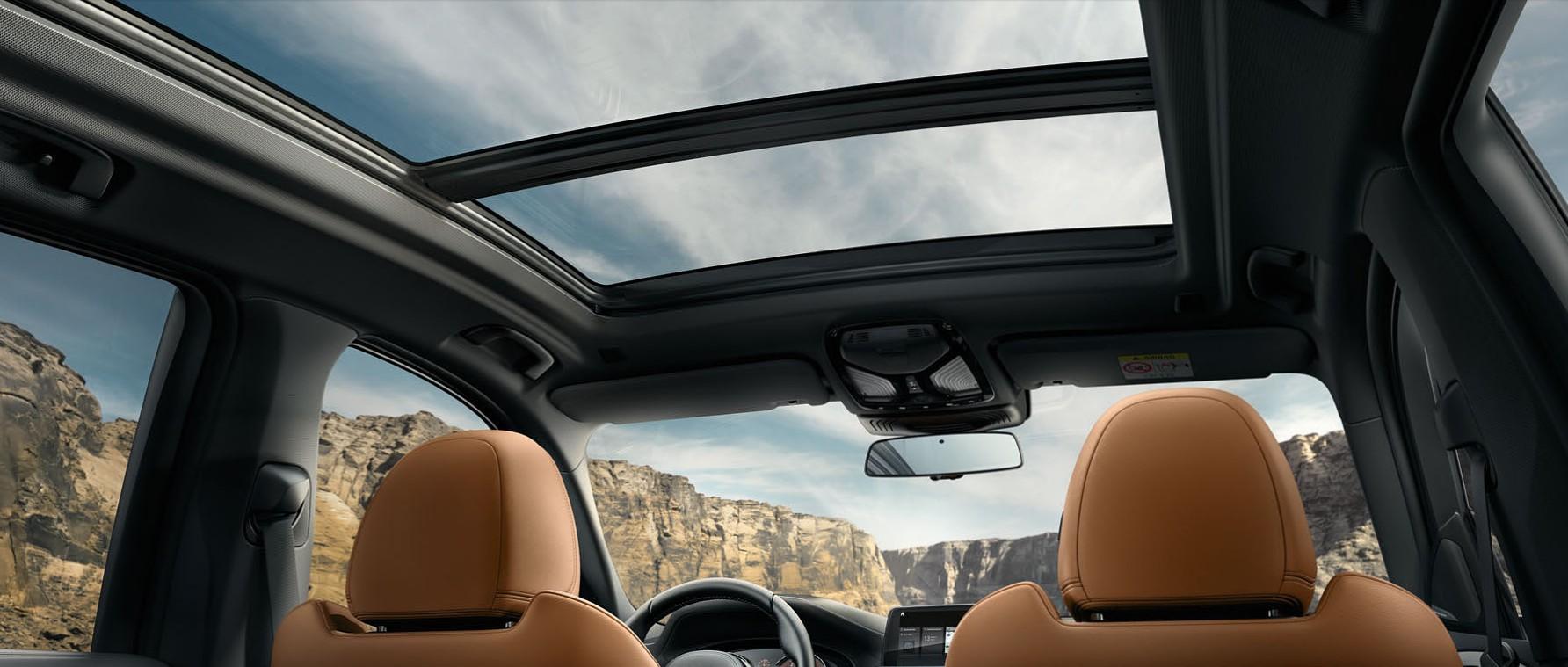 新型BMW X3_パノラマガラスサンルーフ