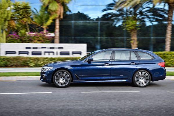 BMW_5シリーズツーリング_外装デザイン_サイドビュー