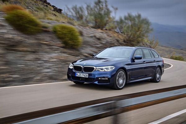 BMW 5シリーズツーリング_走行イメージ