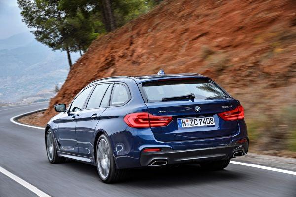 BMW_5シリーズツーリング_リアビュー